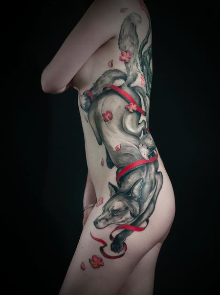 Tattoos - 3 tailed kitsune - 79056