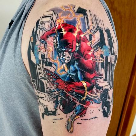 THE FLASH Tattoo Design Thumbnail