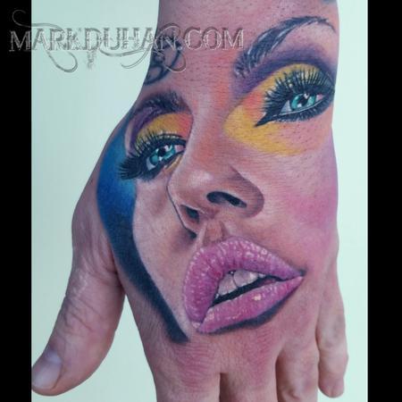 Tattoos - HAND GIRL - 98904