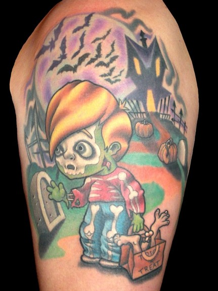 Tattoos - Mark Duhan - TRICK 'R TREAT