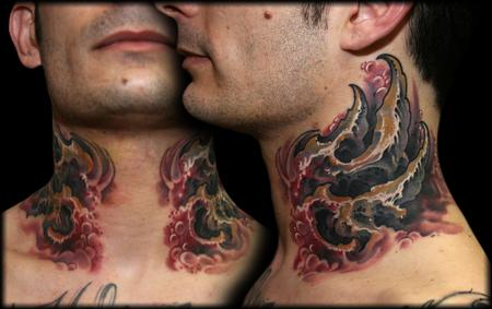 bio neck Tattoo Design Thumbnail