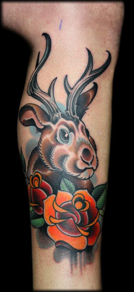 Tattoos - horns - 77122