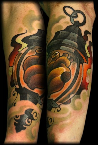 lantern | Tattoo | Pinterest | Lanterns and Fire