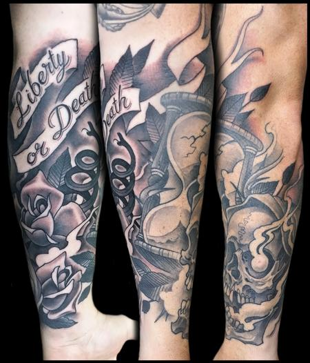 Tattoos - liberty or death - 99268