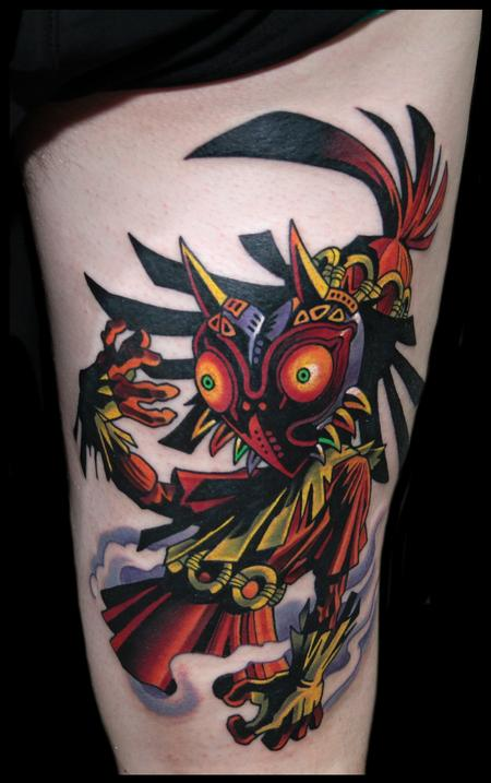 Tattoos - majoras mask - 99266