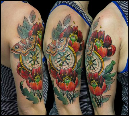 Tattoos - poppies - 99264