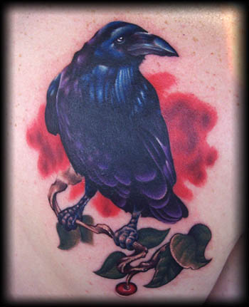 Looking for unique  Tattoos? Raven