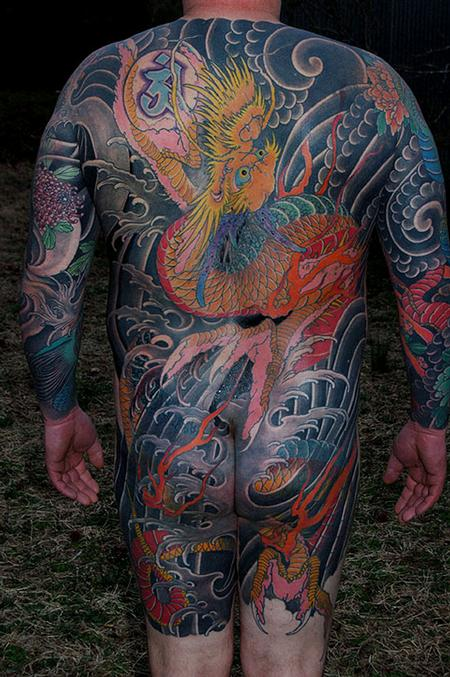 Dana Helmuth - dragon backpiece