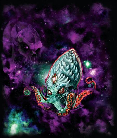 Tattoos - Space Octopus - 112031