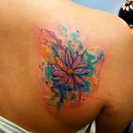 Watercolor Daisy/Flower Design Thumbnail