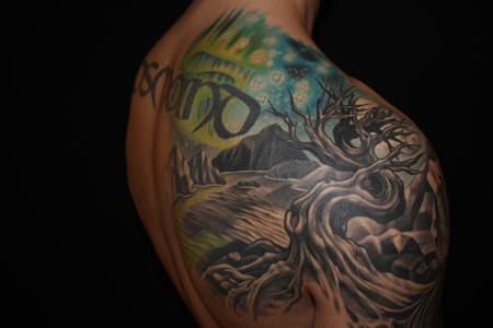 Tattoos - Tree of life from Norse mythology - 63755