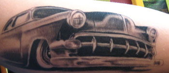 Tattoos - Black and Grey Auto - 27556