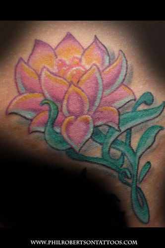 Tattoos - Lotus - 29725