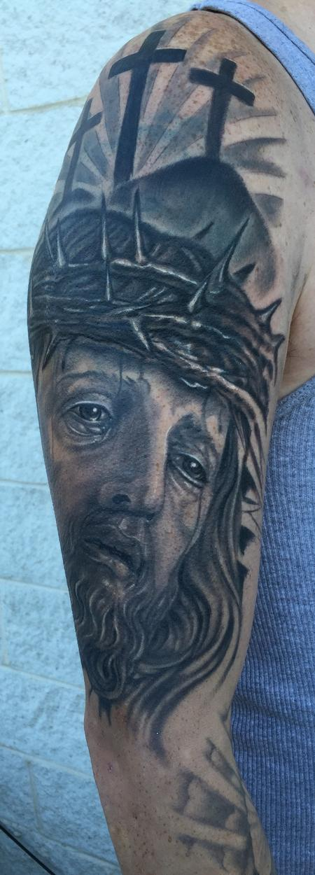 Jesus Christ tattoo Design Thumbnail