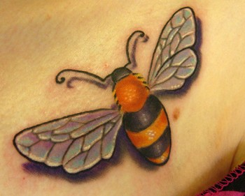 Tattoos on Worlds Best Tattoos   Tattoos   Phil Robertson   Bee Tattoo
