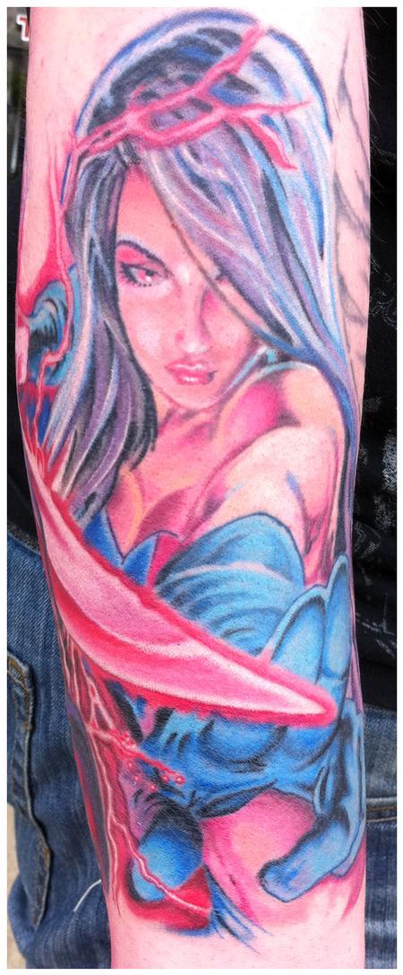Tattoos - Comic book woman - 56243