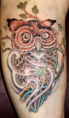 Tattoos - Hooty hooo - 35031