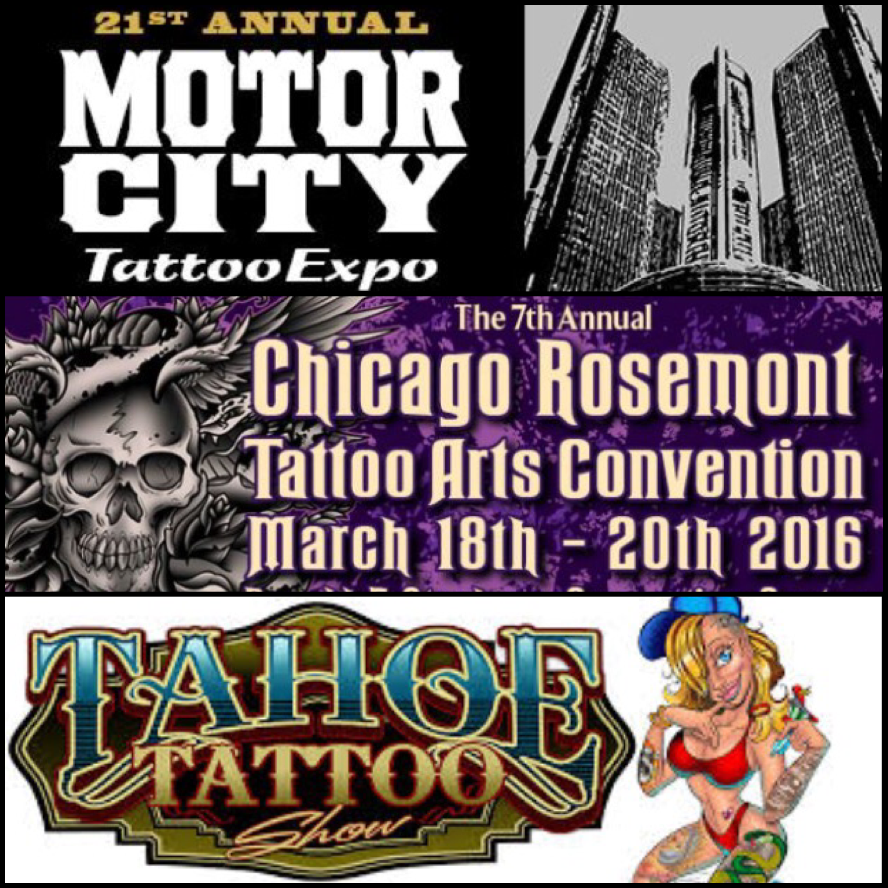 Upcoming conventions 9 dot studio for Upcoming tattoo conventions
