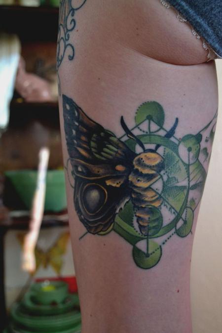Tattoos - IO Moth - 87461