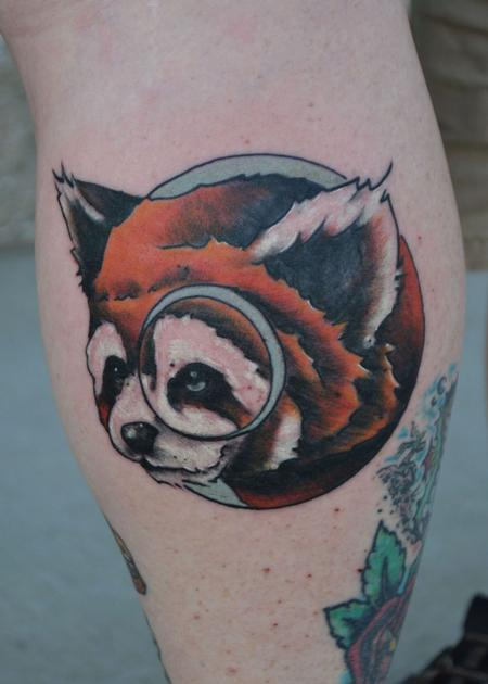 Tattoos - the lesser panda - 93552