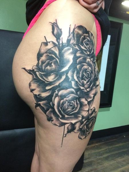 Tattoos - Roses - 124957