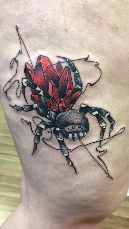 Karina Tattoo Design Thumbnail