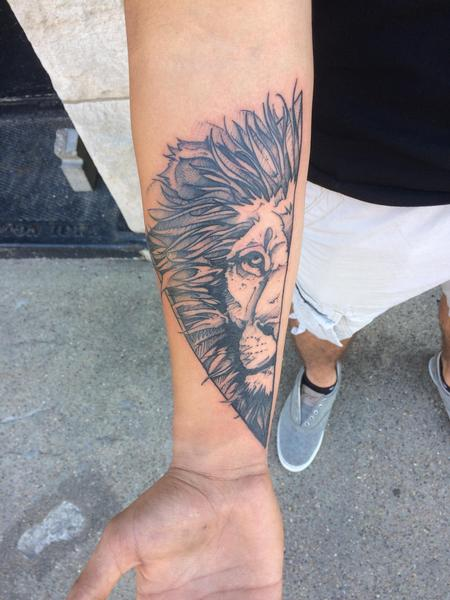 Lion O Tattoo Design Thumbnail