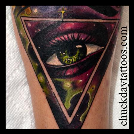 Eye Detail Tattoo Design Thumbnail