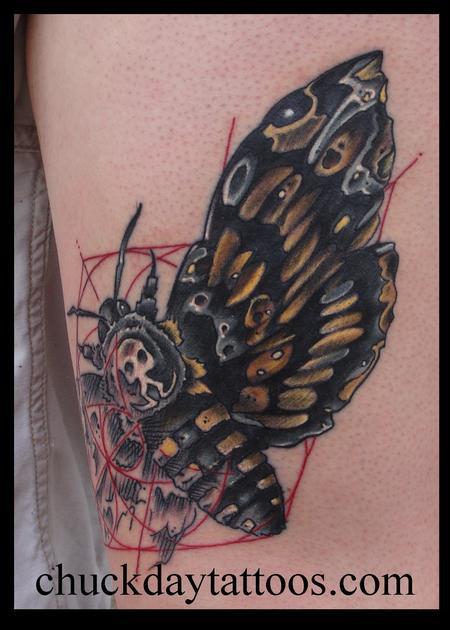 Tattoos - Geo Moth 2nd angle - 79539