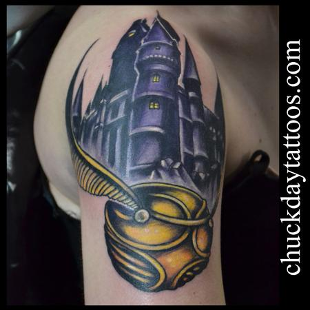 Golden Snitch Tattoo Design Thumbnail