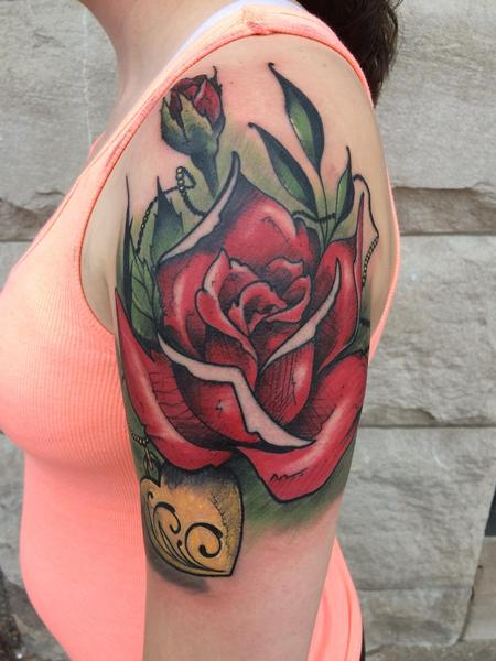 Tattoos - Rose - 115645