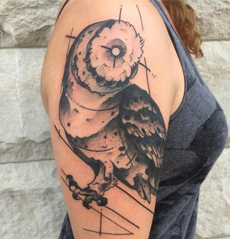 Tattoos - Cecelia's Owl - 120163