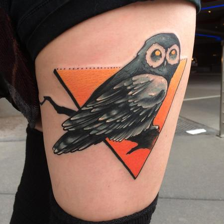 Tattoos - Rae's owl - 115605