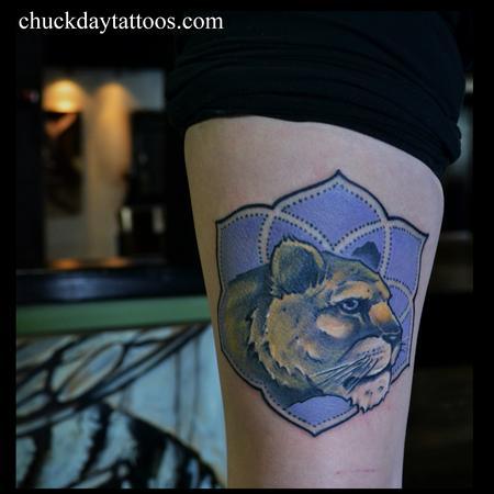 Tattoos - Lioness Mandala - 99421