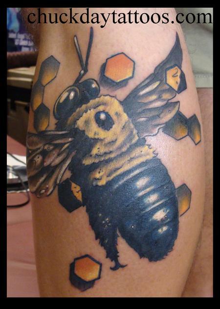 Tattoos - Bee tattoo - 79530