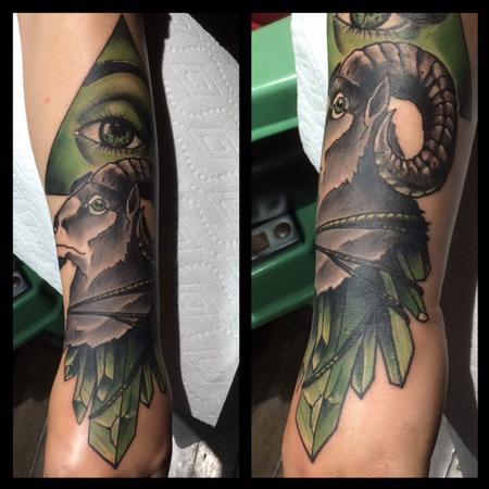 Tattoos - Ram Crystals - 112473