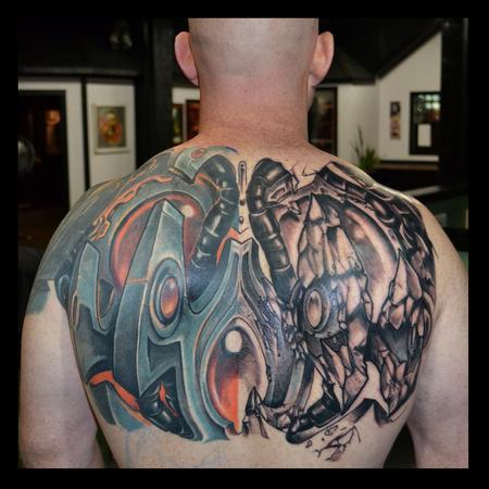 Tattoos - Biomech/Organica Exoskeleton - 95629