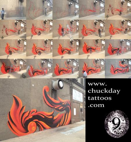 Tattoos - Timelapse Graffiti Project - 70163