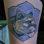 Lioness Mandala Tattoo Design Thumbnail