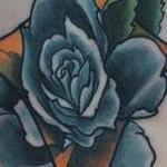 Diamond Rose Tattoo Design Thumbnail