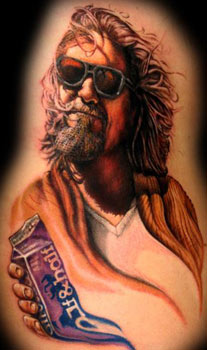 Tattoos - Big Lebowski Tattoo - 33087