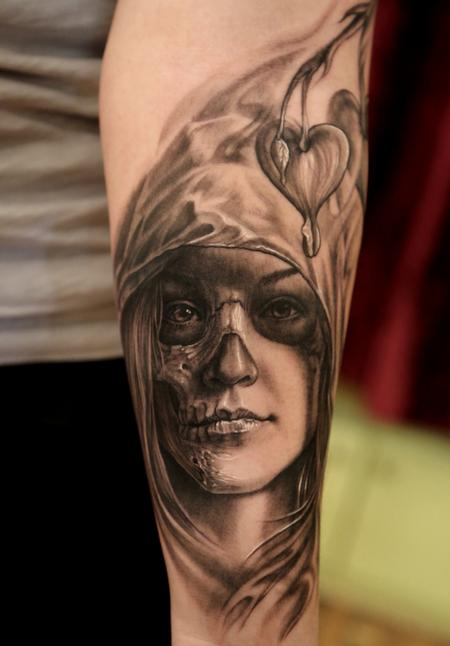 Tattoos - Realistic Day Of the Dead - 74220