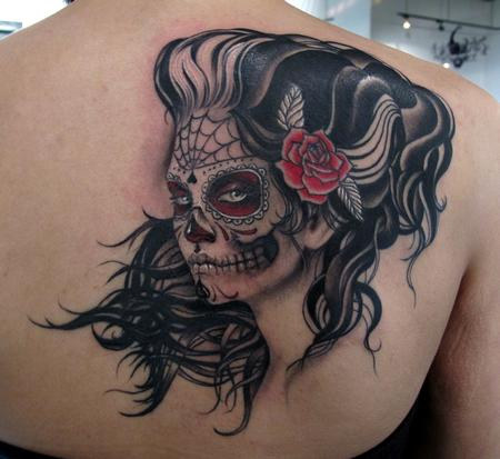 Tattoos - Day of the dead Sylvia Ji inspired - 60998