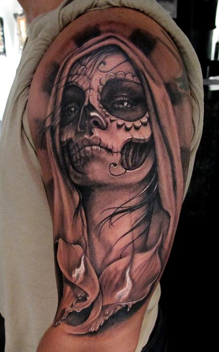 Tattoos - Day Of the Death - 61001