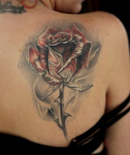 Healed Rose Tattoo Design Thumbnail