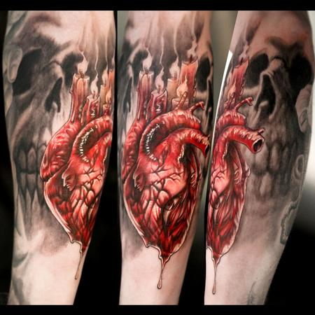 Tattoos - Dark Heart - 77856