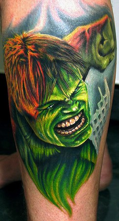 Tattoos - the Hulk - 36826