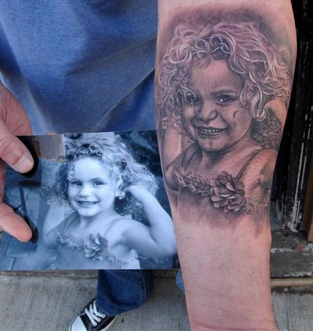 Tattoos - Daugther Portrait  - 65200