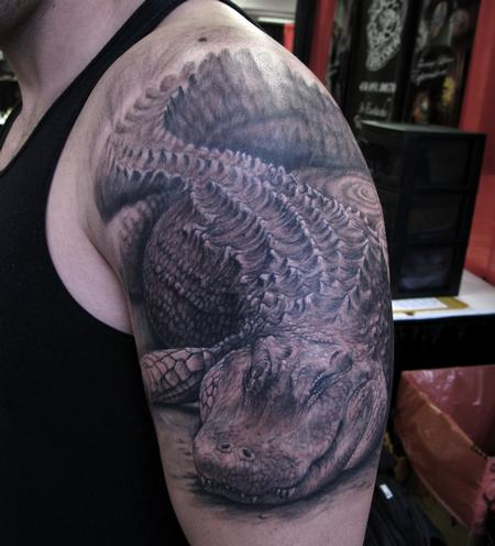 Alligator Tattoo Design Thumbnail