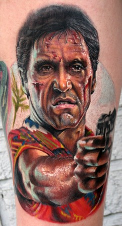 Tattoos - Scarface tattoo - 36429